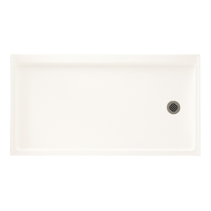 Swan Veritek 60-in x 32-in Shower Base with Right Drain