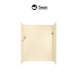 Swan Solid Surface 32-in x 60-in x 72-in Shower Side and Back Panels