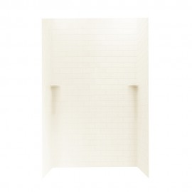 Swan Solid Surface 48-in x 48-in x 96-in Shower Side and Back Panels