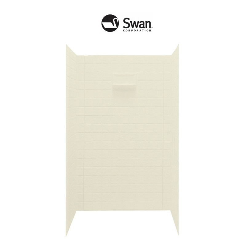 Swan Veritek 36-in x 48-in x 72-in Shower Side and Back Panels