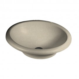Swan Hilo Composite 18-in Oval Vessel Sink