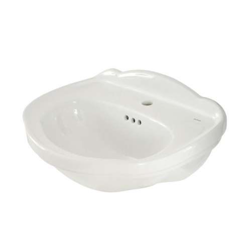 Toto Whitney 25-in. Vitreous China Oval Pedestal Bathroom Sink