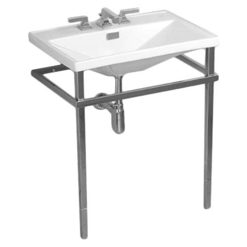 Toto Lloyd Stainless Steel 20-in. Rectangular Console Bathroom Sink