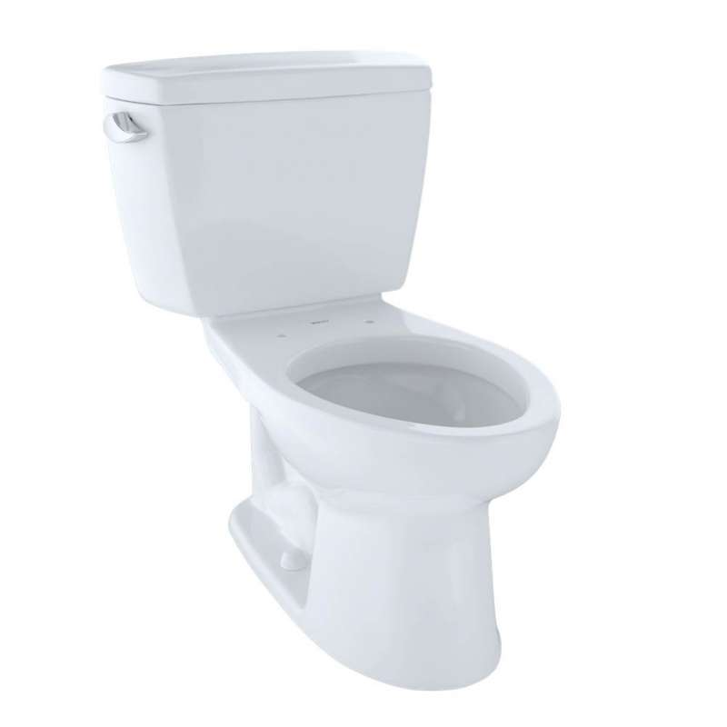 Toto Drake Elongated G-Max 1.6-GPF 2 Piece Toilet, Less Seat - In Multiple Colors