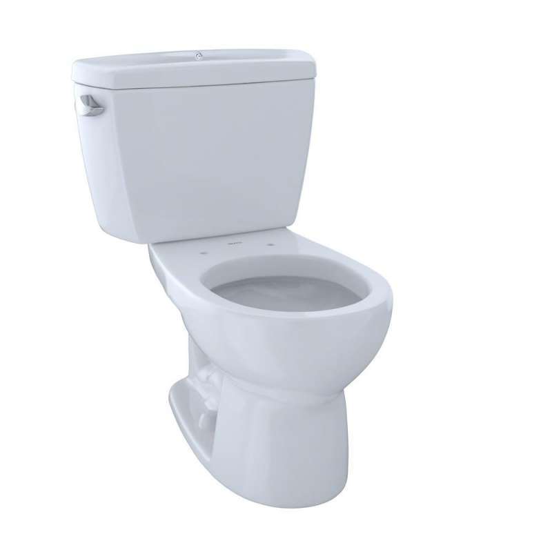 Toto Drake Round G-Max 1.6-GPF 2 Piece Toilet, Less Seat - In Multiple Colors