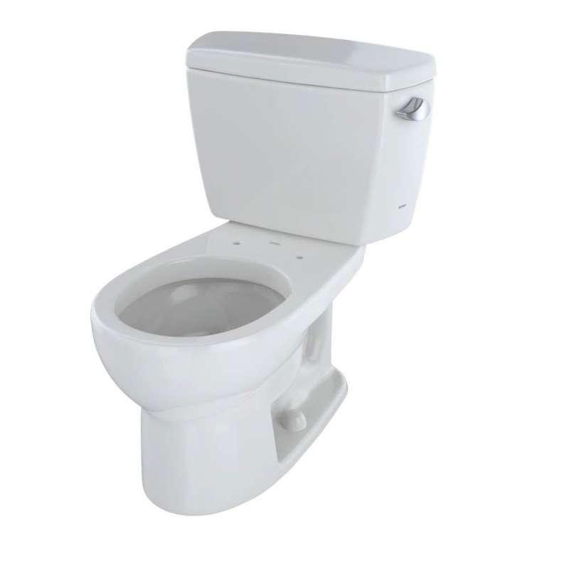 Toto Drake Round G-Max 1.6-GPF 2 Piece Toilet, Less Seat
