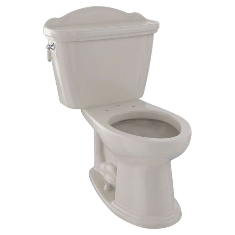 Toto Whitney Elongated G-Max 1.6-GPF 2 Piece Toilet, Less Seat