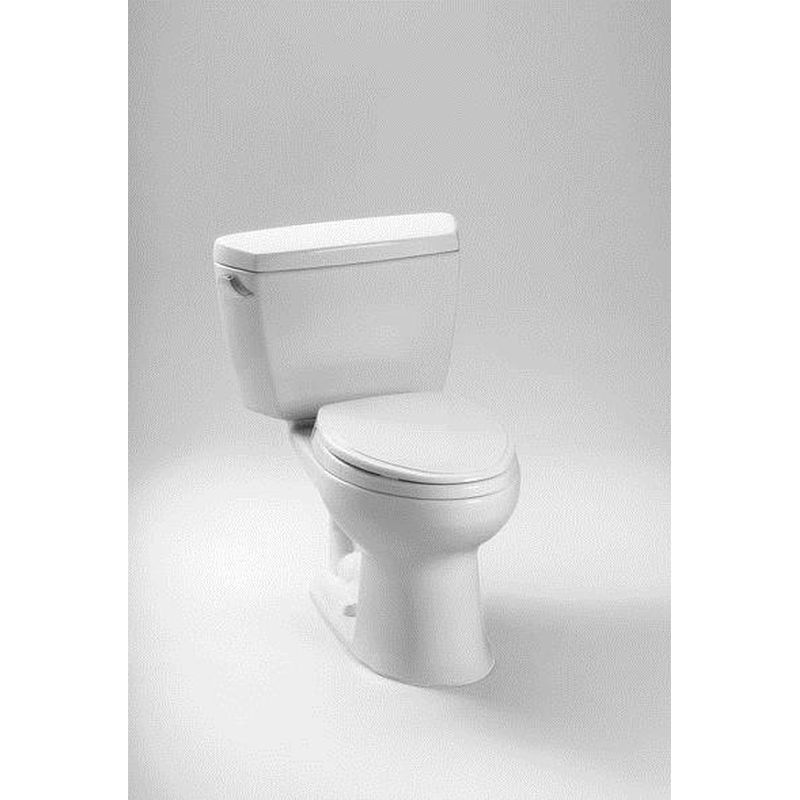 Toto Drake 2-Piece Elongated Toilet With Bolt Down Lid