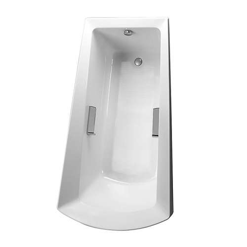 Toto Soiree 72-in. Acrylic Rectangular Drop In Bathtub with Foot Drain