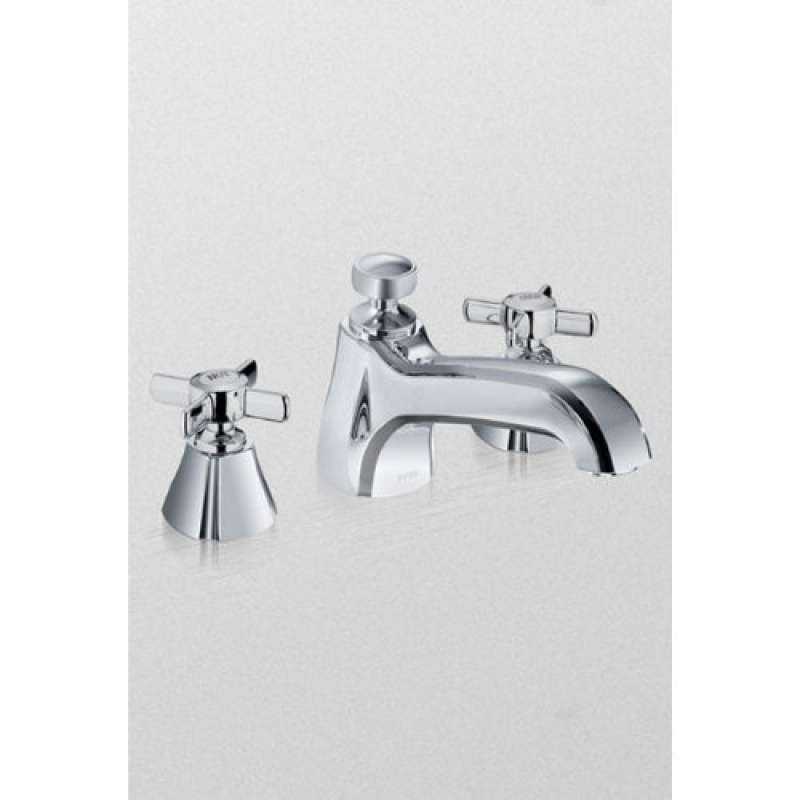 Toto Guinevere Deck-Mounted Bathtub Faucet Trim Kit With Cross Handles