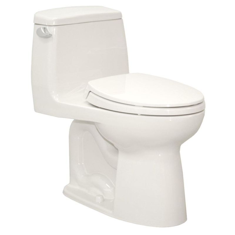 Toto UltraMax 1-Piece Toilet And Seat With Right Trip Lever