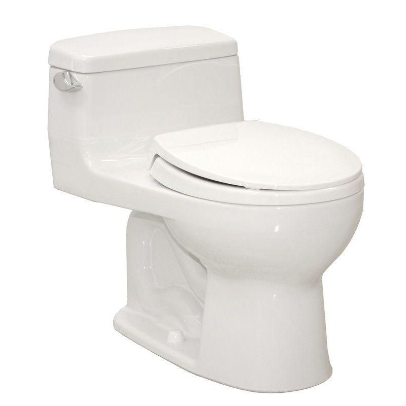 Toto Supreme 1.28 GPF 1-Piece Round Toilet With Seat