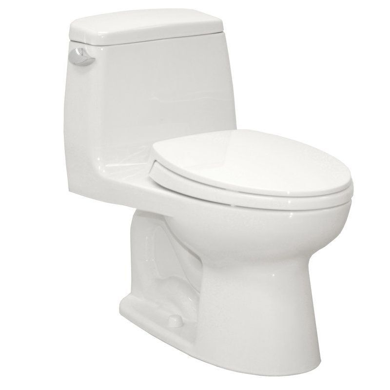 Toto Eco UltraMax 1.28 GPF 1-Piece Elongated Toilet With Seat