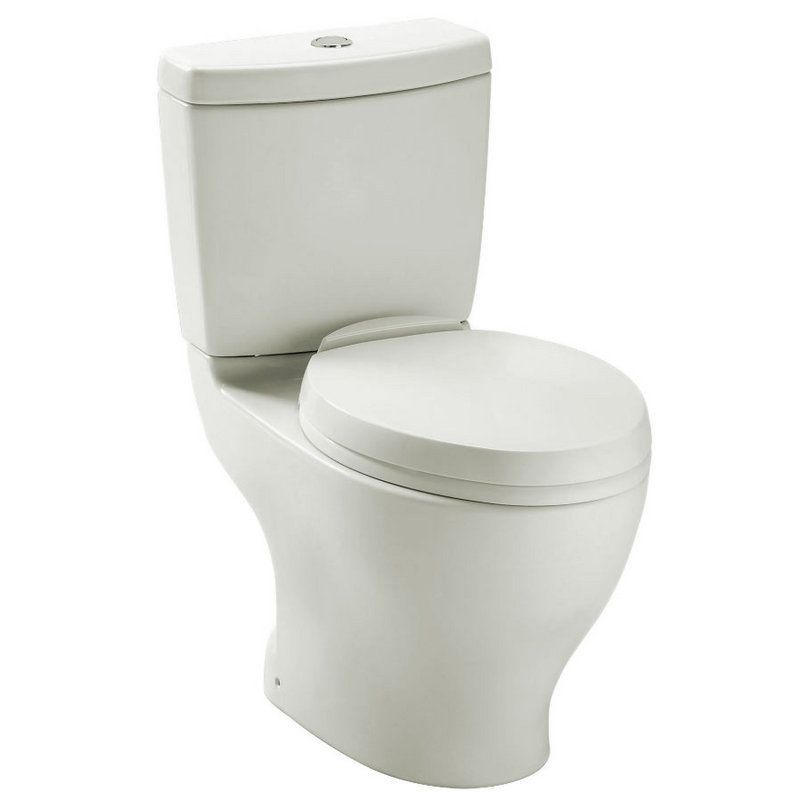 Toto Aquia 1.6/.9 GPF 2-Piece Elongated Toilet With Dual Flush