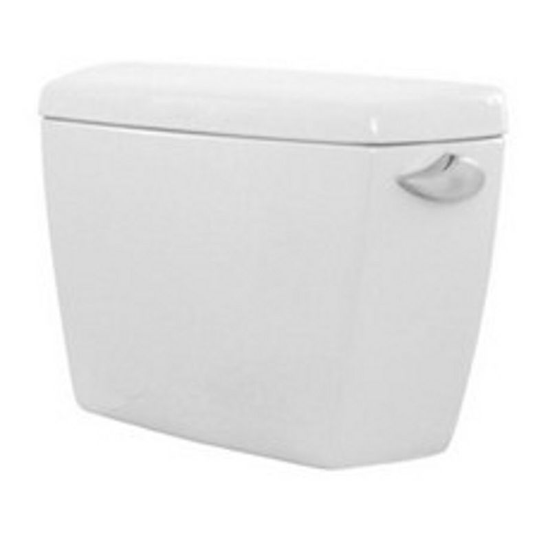 Toto Eco Drake Toilet Tank With Right Hand Trip Lever And Bolt Down Lid