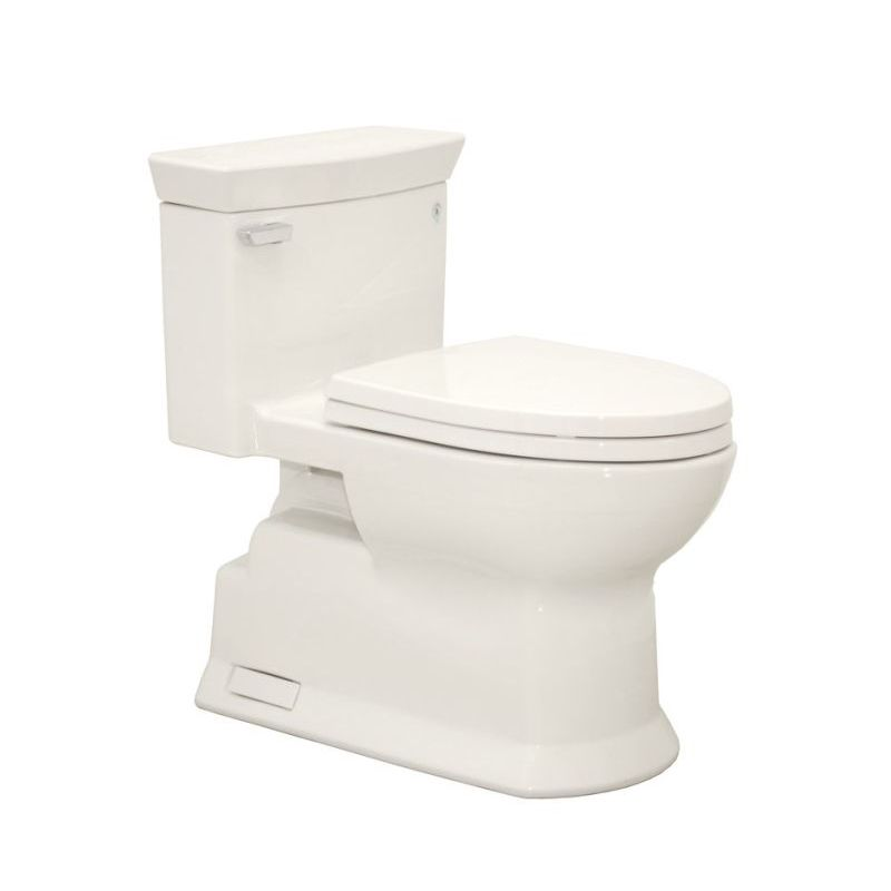 Toto Eco Soiree 1.28 GPF ADA 1-Piece Elongated Toilet With Seat
