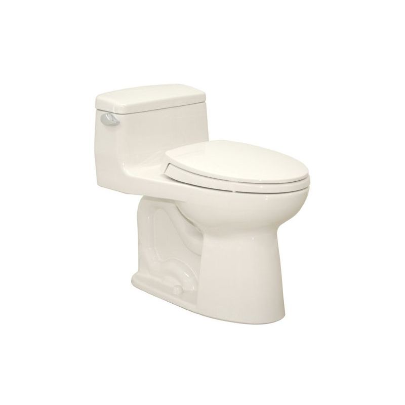 Toto Supreme 1.28 GPF 1-Piece Elongated Toilet With Seat