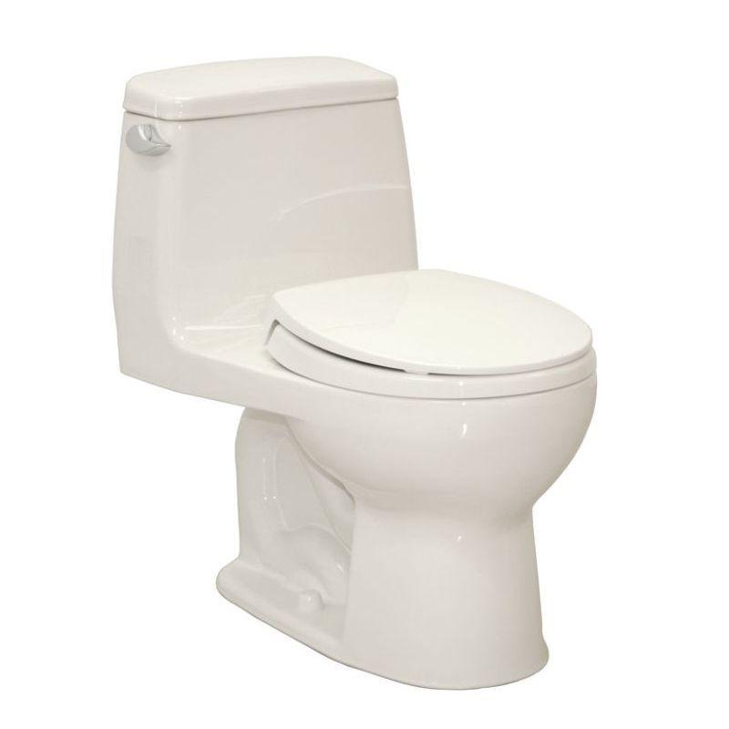 Toto Eco UltraMax 1.6 GPF 1-Piece Round Toilet With Seat