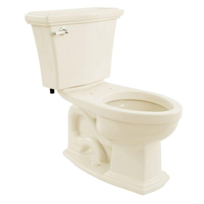 Toto Eco Clayton 1.28 GPF 2-Piece Elongated Toilet