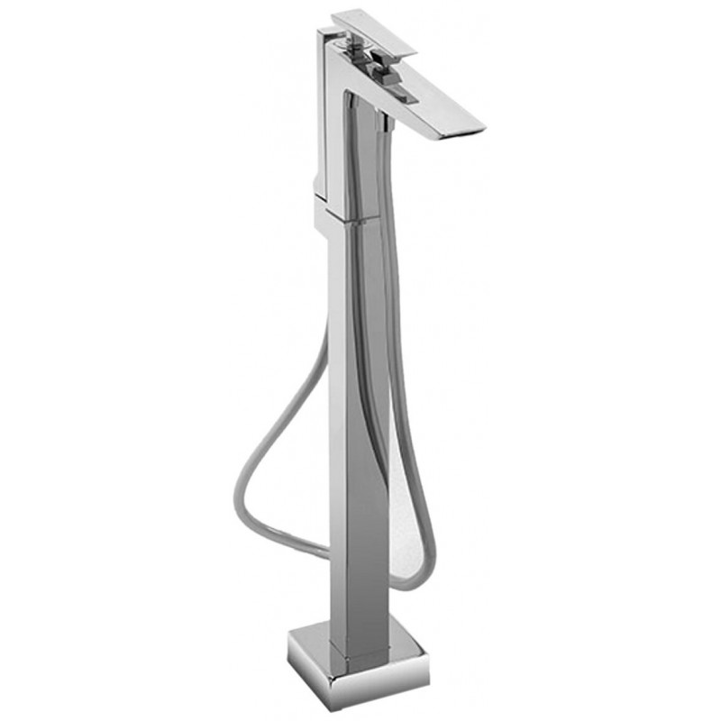 Toto Single Handle Freestanding Bathtub Faucet With Handheld Shower