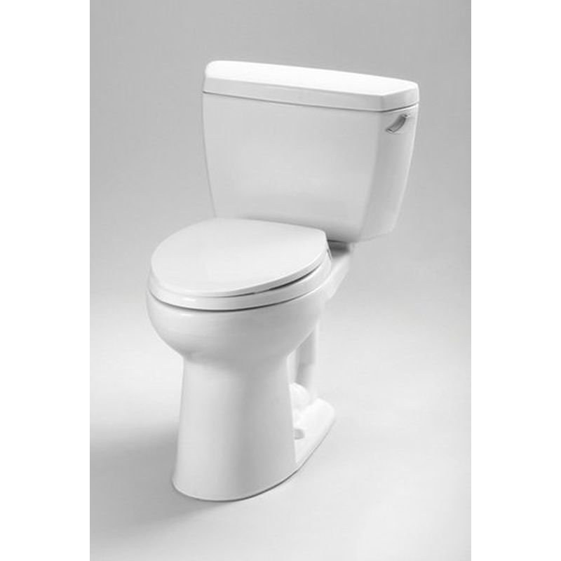 Toto Eco Drake 1.2 GPF 2-Piece Elongated Toilet