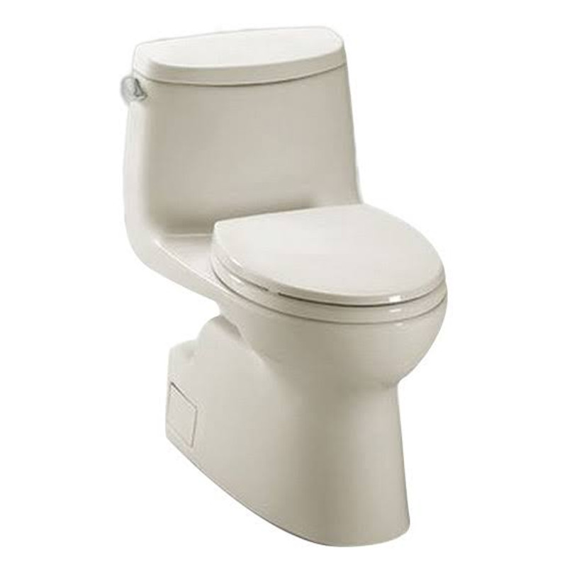 Toto Carlyle II 1.28 GPF 1-Piece Elongated Toilet With Seat