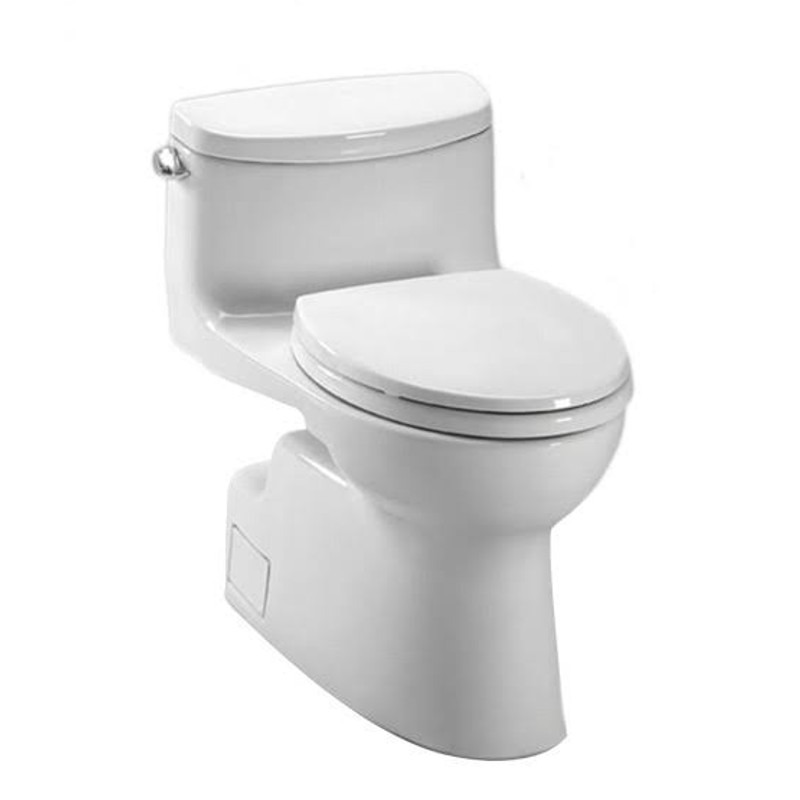 Toto Carolina 1.28 GPF 1-Piece Elongated Toilet With Seat