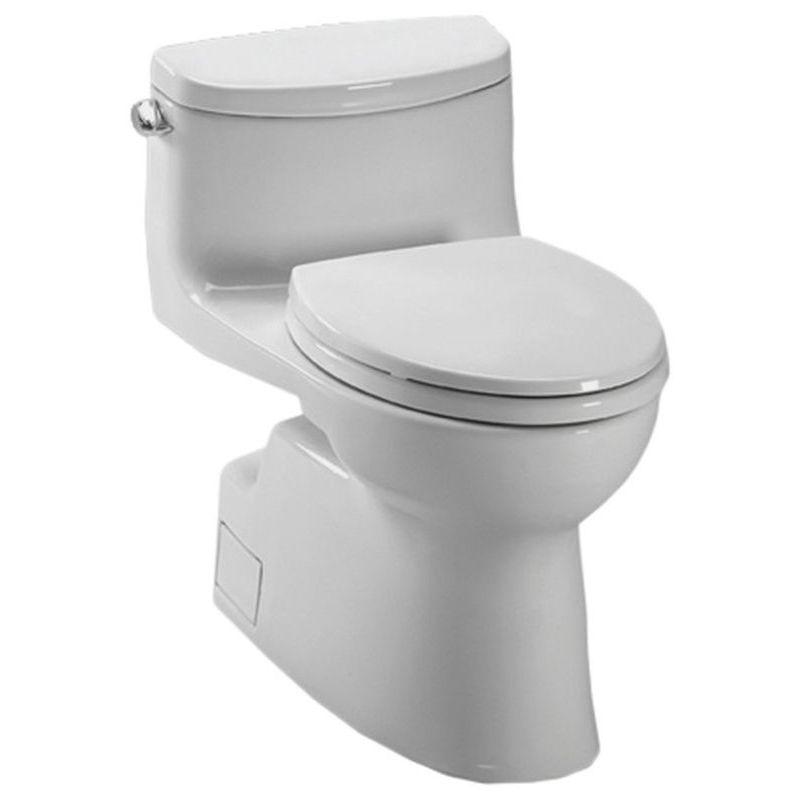 Toto Carolina 1.28 GPF 1-Piece Elongated Toilet With Seat