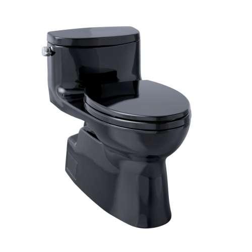 Toto Carolina II Elongated Tornado 1.28-GPF 1-Piece Toilet, With Seat