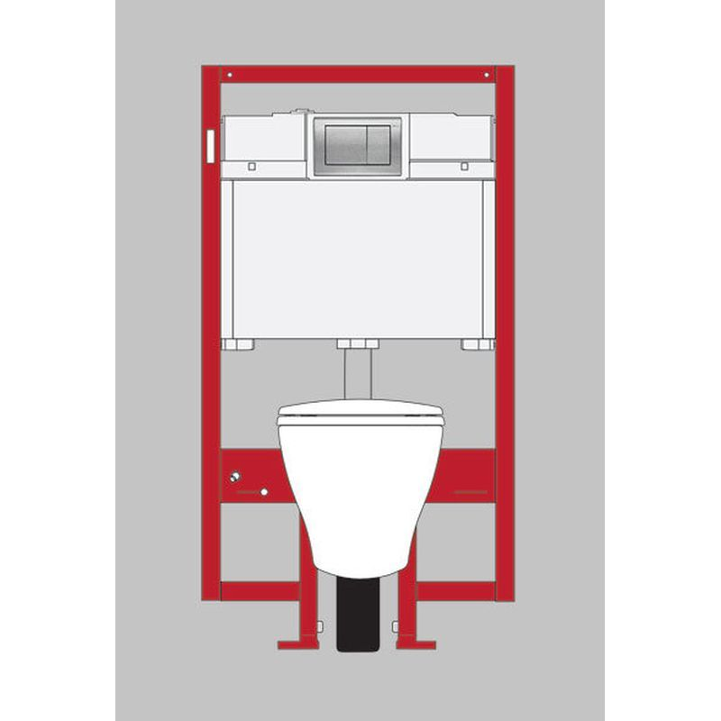 Toto Aquia 1.6 GPF 1-Piece Elongated Toilet With Dual Flush