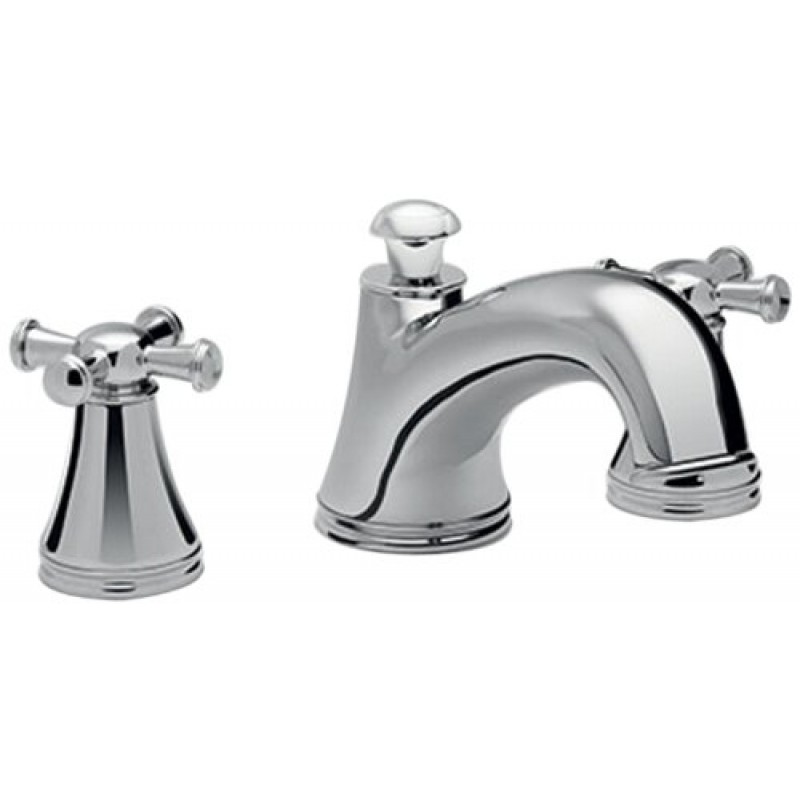 Toto Vivian Deck-Mounted Bathtub Faucet Trim Kit With Cross Handles