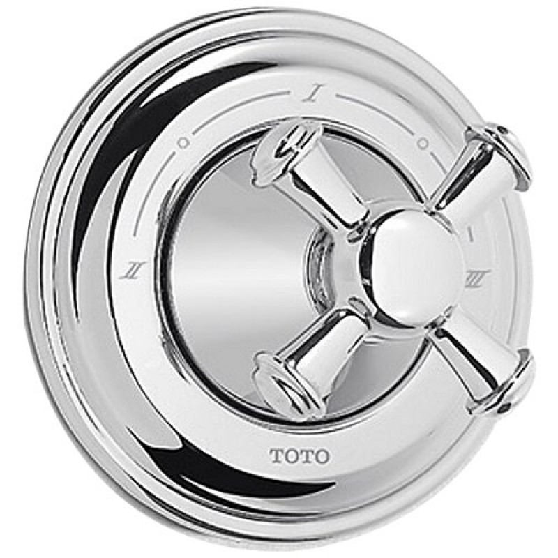 Toto Vivian Three-Way Diverter Trim With Shut-Off