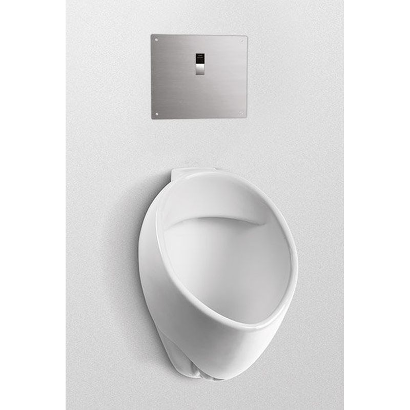 Toto Commercial 1/8 GPF Wall Mounted Urinal With Back Spud