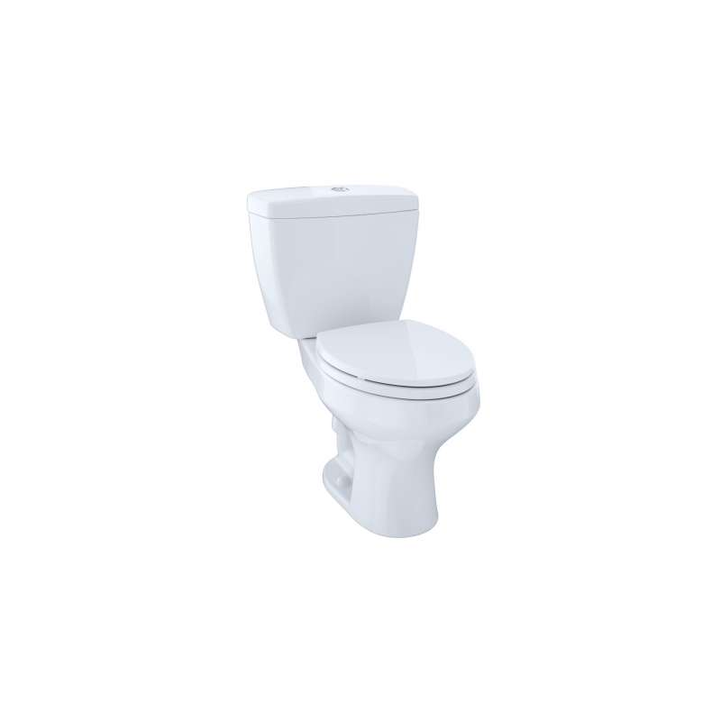 Toto Rowan Elongated Dual-Max 1.6, 1-GPF 2 Piece Toilet, Less Seat