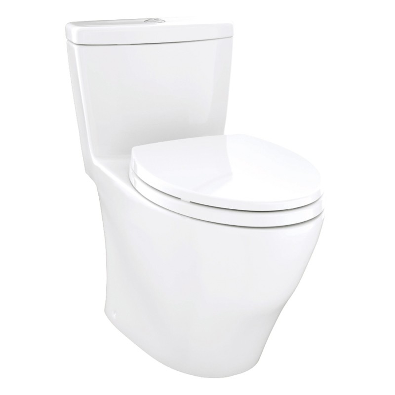 Toto Aquia 1.6 GPF 1-Piece Elongated Toilet With Seat