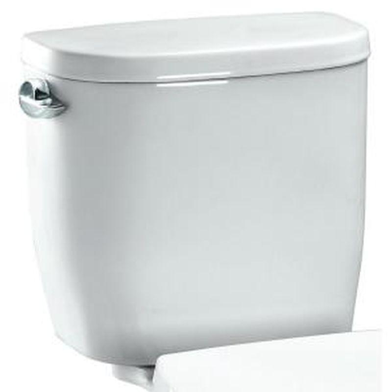 Toto Entrada 1.28 GPF Tank For Two-Piece Round Toilet
