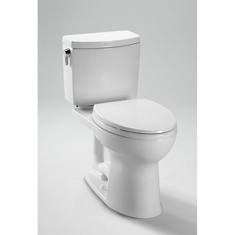 Toto Drake II 1. GPF Toilet Tank With Right Hand Trip Lever And Cover