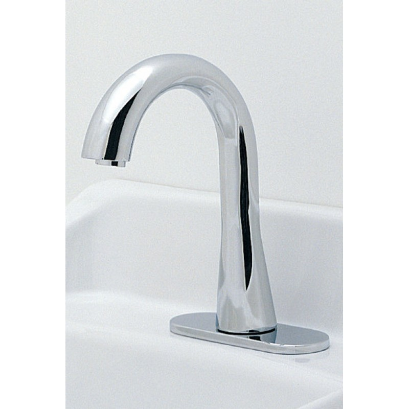 Toto EcoPower Gooseneck Faucet With Thermal Mixing And 60 Second Discharge