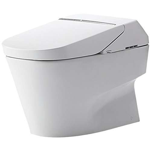 Toto Neorest Elongated Siphon Jet 1-GPF Toilet Bowl, Less Seat