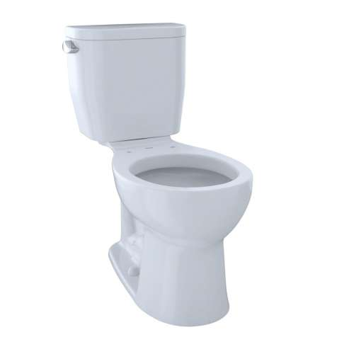 Toto Entrada Round E-Max 1.28-GPF Toilet Bowl, Less Seat - In Multiple Colors