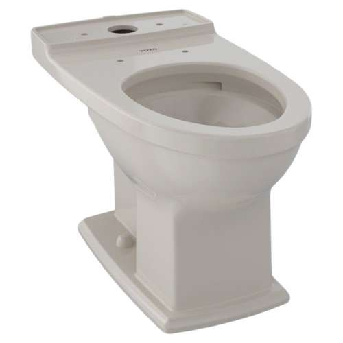 Toto Connelly Elongated Tornado 0.9, 1.28-GPF Toilet Bowl, Less Seat