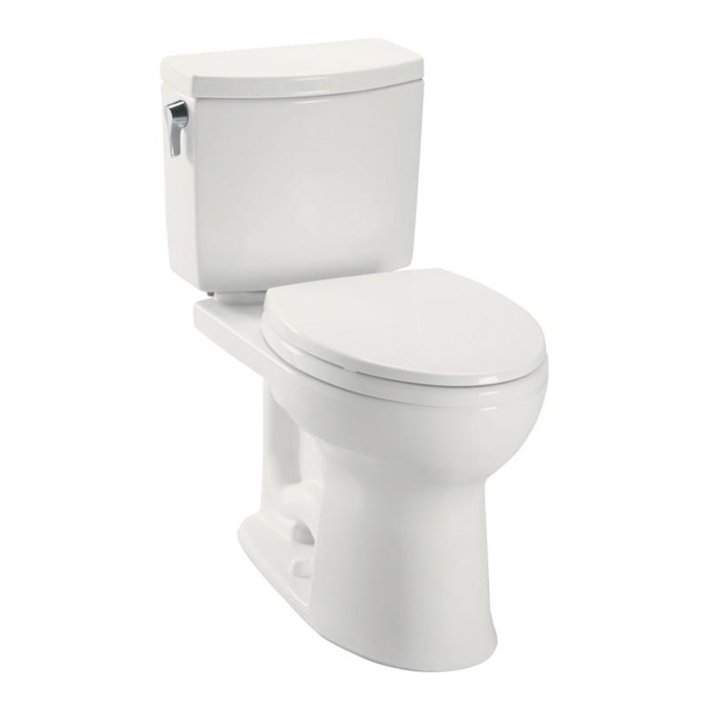 Toto Drake II 1 GPF 2-Piece Elongated Toilet