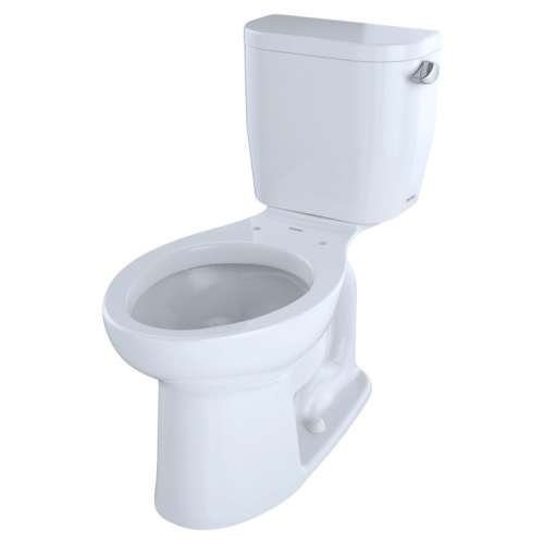 Toto Entrada Elongated E-Max 1.28-GPF Toilet Bowl, Less Seat
