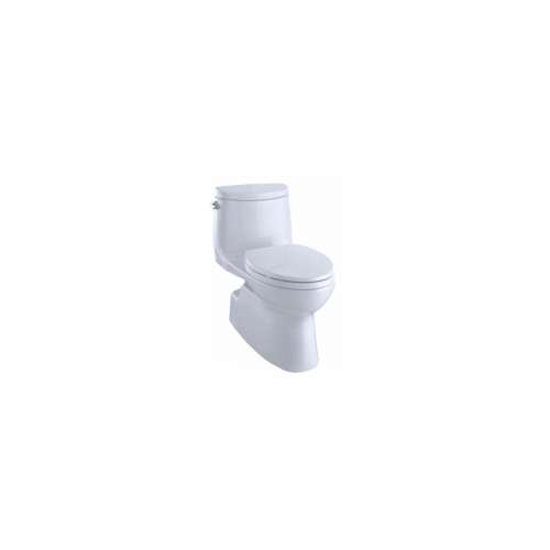 Toto Carlyle II Elongated Tornado 1.28-GPF 1-Piece Toilet, With Seat