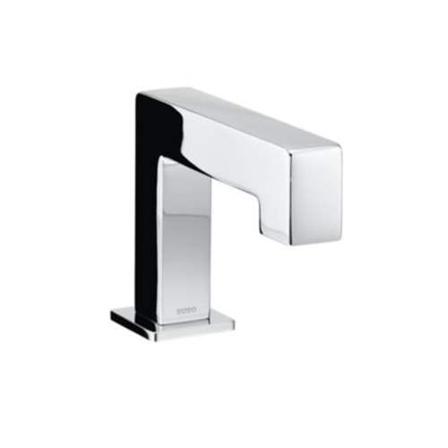 Toto Axiom EcoPower Deck-Mounted Low Arc 0.5-GPM Single Hole Bathroom Sink Faucet