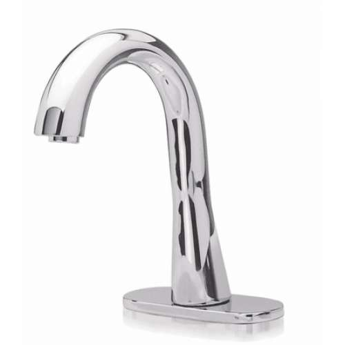 Toto EcoPower Deck-Mounted Fixed 0.5-GPM Single Hole Bathroom Sink Faucet