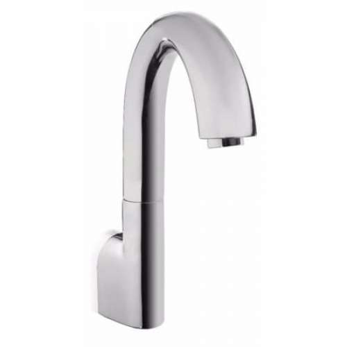 Toto EcoPower Wall Mount High Arc 0.5-GPM Bathroom Sink Faucet