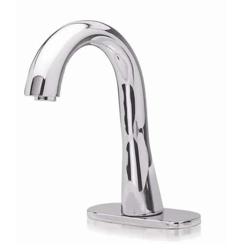 Toto EcoPower Deck-Mounted Gooseneck 0.5-GPM Single Hole Bathroom Sink Faucet