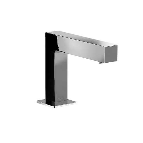 Toto Axiom EcoPower Deck-Mounted Low Arc 1-GPM Single Hole Bathroom Sink Faucet