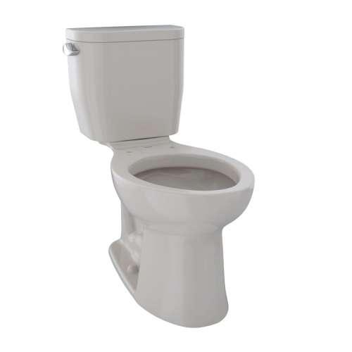 Toto Entrada Elongated E-Max 1.28-GPF Toilet Bowl, Less Seat
